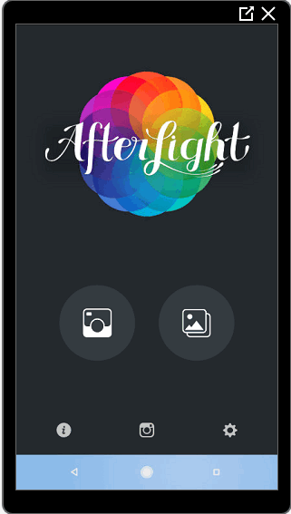 Додаток AfterLight — робота з фото для Инстаграма